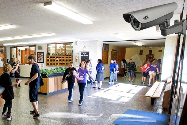 security cameras in school essay