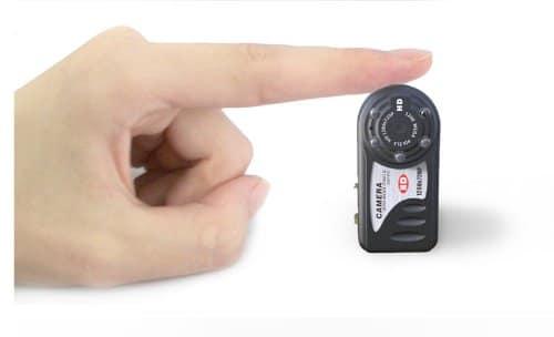 мини камера с детектор за движение