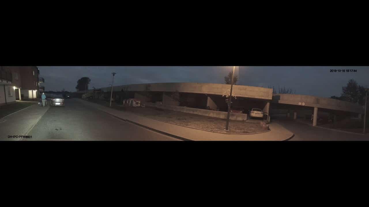 DAHUA PFW8601-A180 - Starlight Panoramic camera night