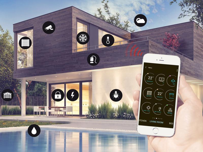Мобилно приложение за безжичен умен дом