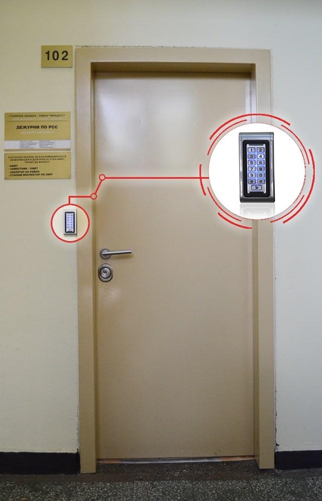 контрол на достъпа