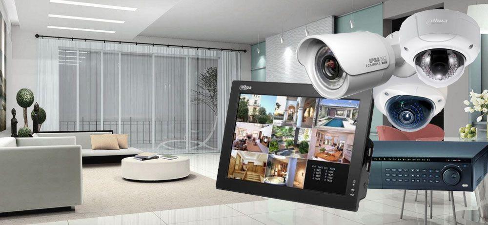 монтаж на охранителни камери и системи за видеонаблюдение