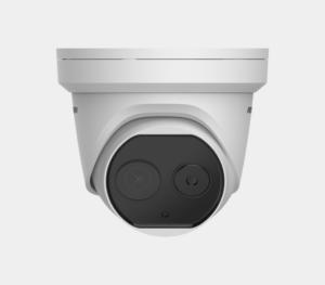 Комбинирана термографска IP камера за измерване на температура на лица с точност ±0.5°С